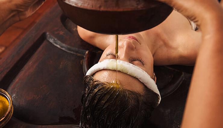 shirodhara treatment for hair loss,treatment for hair loss,hair care tips,beauty tips,beauty hacks,shirodhara