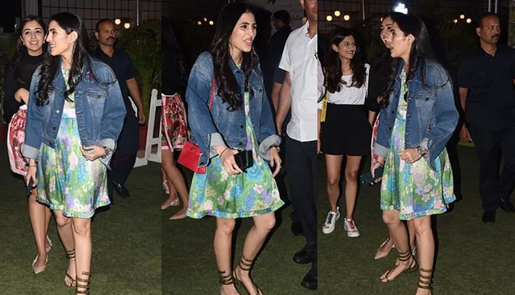 PICS- Shloka Mehta Ambani Wore a Cute Chic Dress With Quirky Sandals