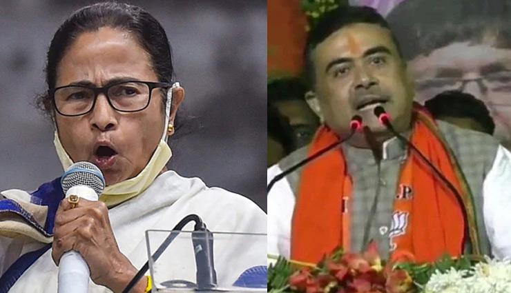 ममता बंगाल की बेटी नहीं, घुसपैठियों की मौसी और रोहिंग्याओं की चाची हैं : शुभेंदु अधिकारी