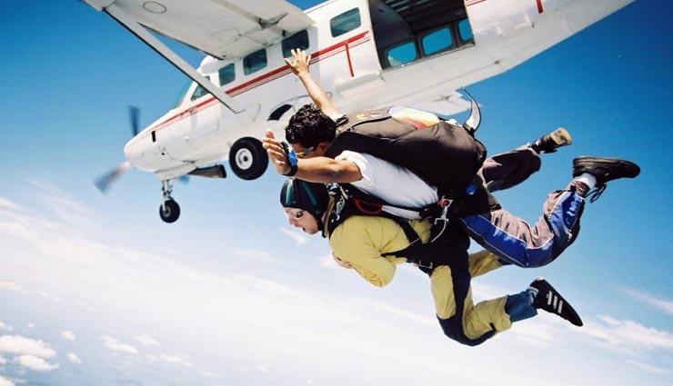 tourist places,indian tourist places,best skydiving places ,पर्यटन स्थल, भारतीय पर्यटन स्थल, स्काई डाइविंग की जगहें