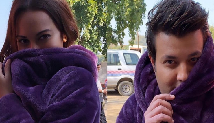 Sonakshi Sinha shares a hilarious twinning post with Varun Sharma