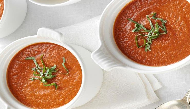 सर्दियों में ट्राई करें 'रोस्टेड टौमेटो एंड हर्ब सूप', बदलते मौसम में रहेगा हेल्दी #Recipe