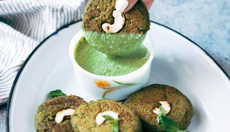 soya hara bhara kebab,kebab recipe,snacks recipe