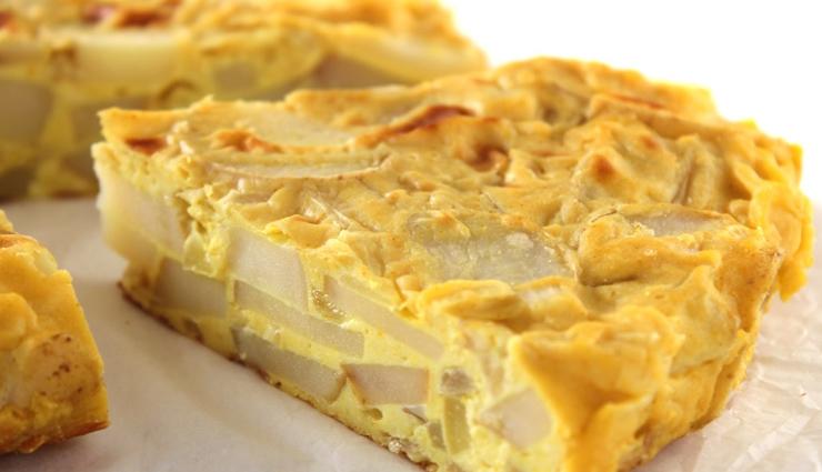 spanish potato omelette,omelette recipe,snacks recipe