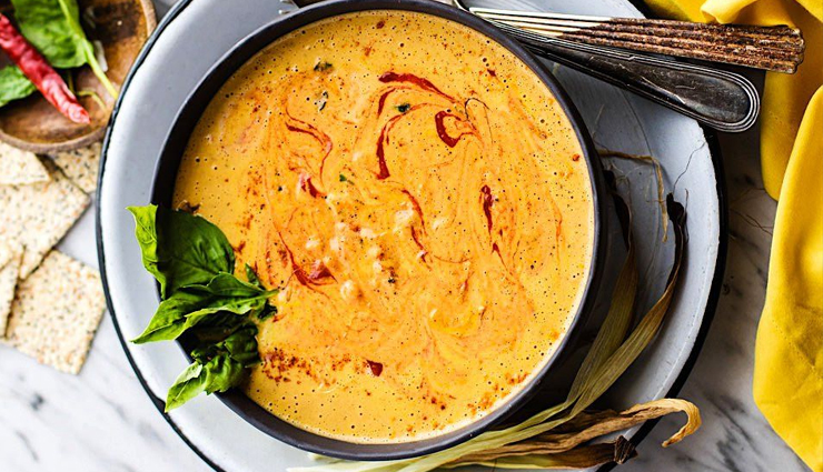 Recipe- Spiced Corn Soup for Winter Nights
