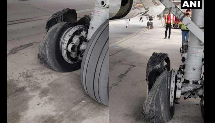 दुबई से जयपुर आ रही स्पाइसजेट फ्लाइट का टायर फटा, एयरपोर्ट पर हुई इमरजेंसी लैंडिग, 189 यात्री थे सवार