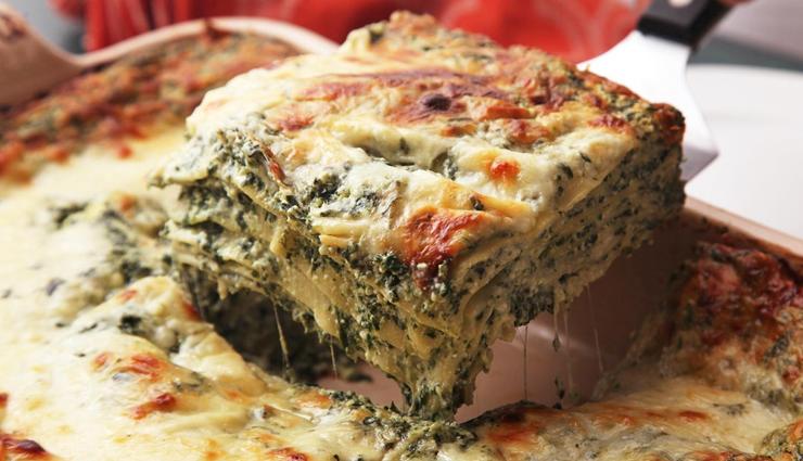 Recipe- Easy To Make Spinach Lasagna