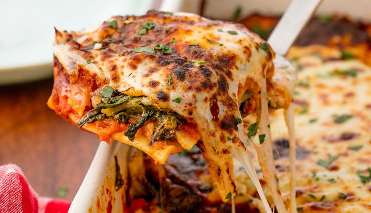 spinach lasagna,spinach lasagna recipe,lasagna recipe,breakfast recipe,recipe