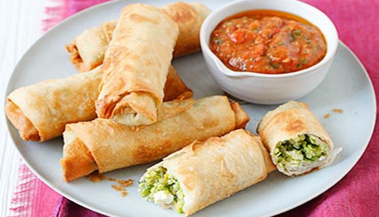 spring roll recipe,recipe,recipe in hindi,special recipe ,स्प्रिंग रोल रेसिपी, रेसिपी, रेसिपी हिंदी में, स्पेशल रेसिपी
