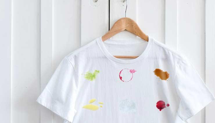 stains on clothes,home remedies,clothes cleaning tips ,कपड़ों के दाग, दाग से छुटकारा, कपड़ों की सफाई, दाग के उपाय, साफ़-सफाई के टिप्स