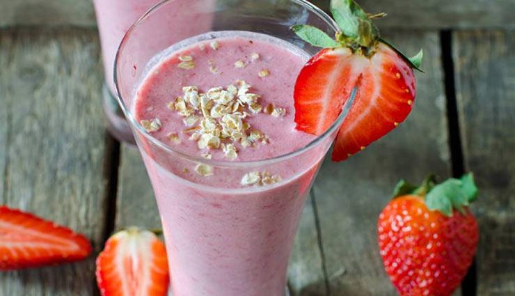 प्लेन दही की लस्सी कि बजह इस गर्मी मज़ा ले 'स्ट्रॉबेरी लस्सी' का #Recipe