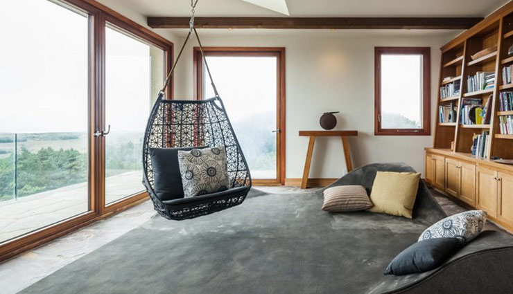 decorate your house with swing chairs,household tips ,स्विंग चेयर,स्विंग चेयर से सजाए घर,हाउसहोल्ड टिप्स