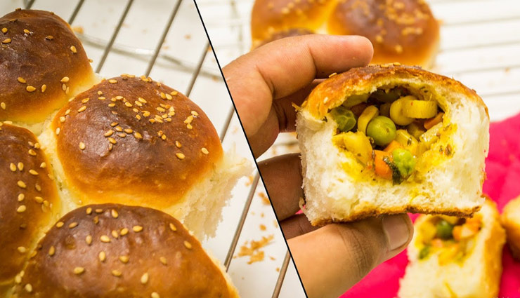 Recipe- Quick and Easy To Make Stuffed Samosa Curry Buns