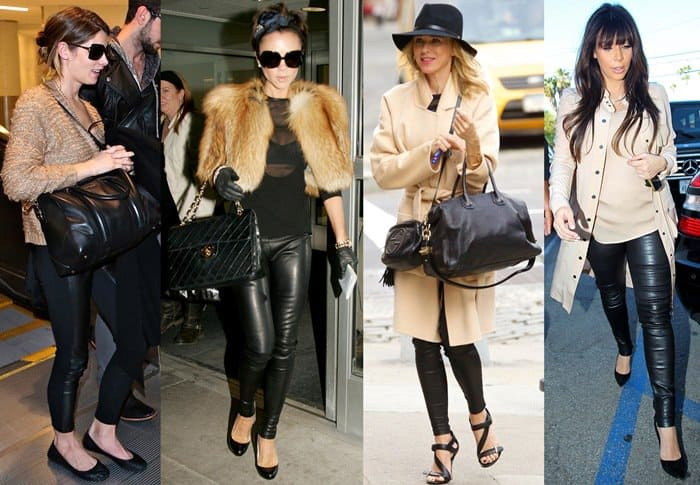leather pants,styling leather pants,fashion tips