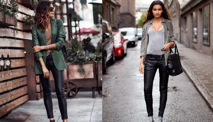 5 Ways To Style Your Leather Pants