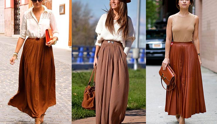 long skirts,tips to pair long skirts,styling long skirts,fashion tips,latest fashion trends