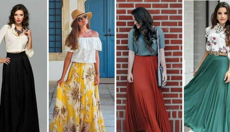 5 Ways To Look Stylish in Long Skirts