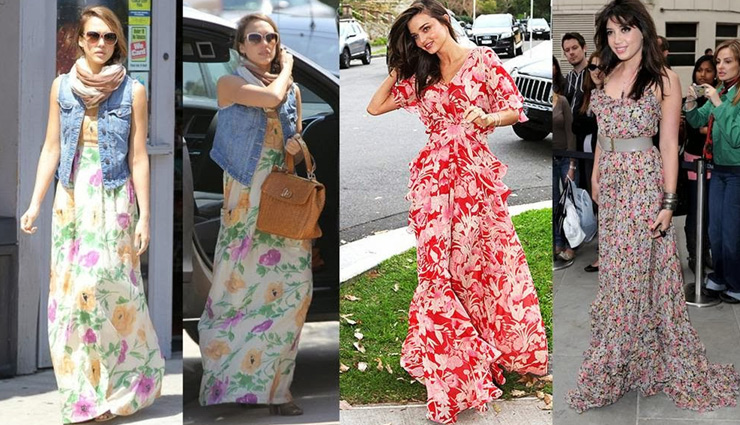 maxi dress,ways to style maxi dress,styling maxi dress tips,styling tips,fashion tips,latest fashion trends