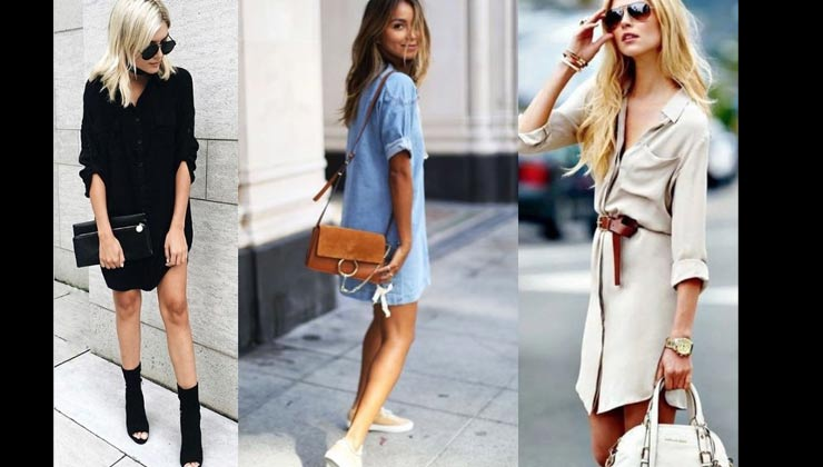 5 Ways To Style Your Shirt Dress