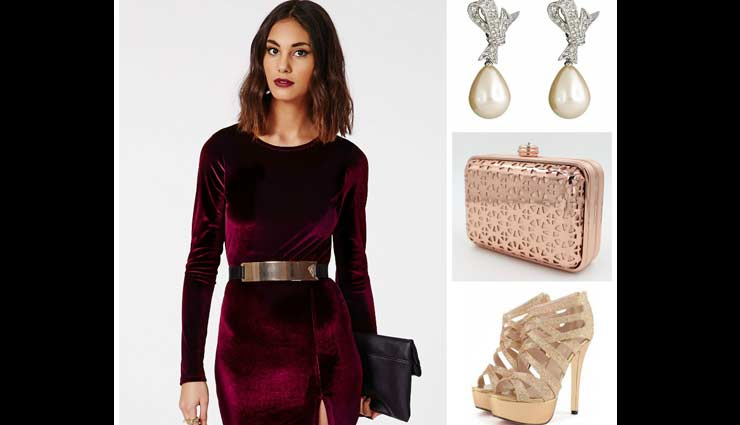 velvet dress,velvet dress styling tips,styling tips,fashion tips,latest fashion trends