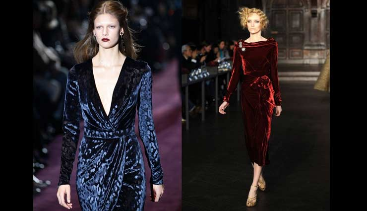 4 Ways To Style Your Velvet Dress and Look Gorgeous