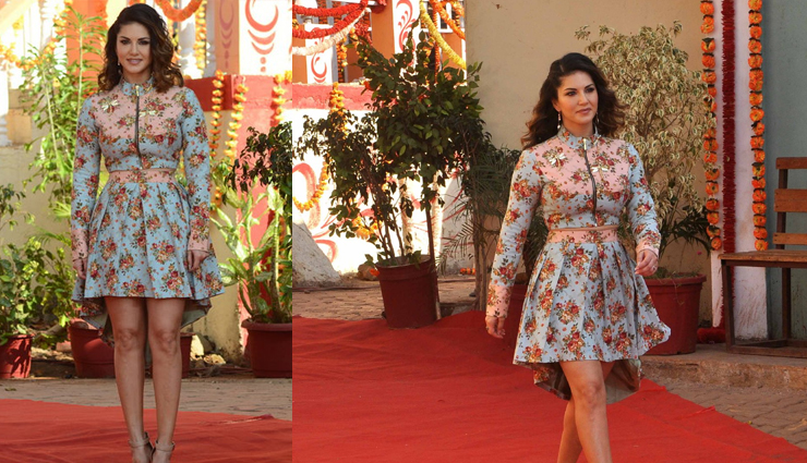 fashion tips,sunny leone,splitsvilla,sunny leone loves experminting with flowers,sunny leone looks