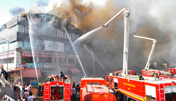 Surat fire death toll rises to 23, two injured students on ventilator