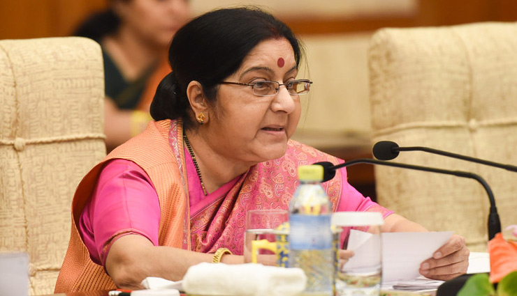 Amid Indo-Pak tension, Sushma Swaraj likely to raise terrorism issue at OIC meet in UAE