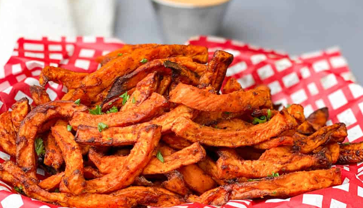Recipe- Crispy and Crunchy Sweet Potato