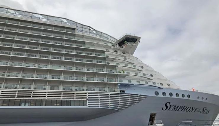 दुनिया के सबसे बड़े समुद्री जहाज की खासियत जान रह जाएंगे दंग