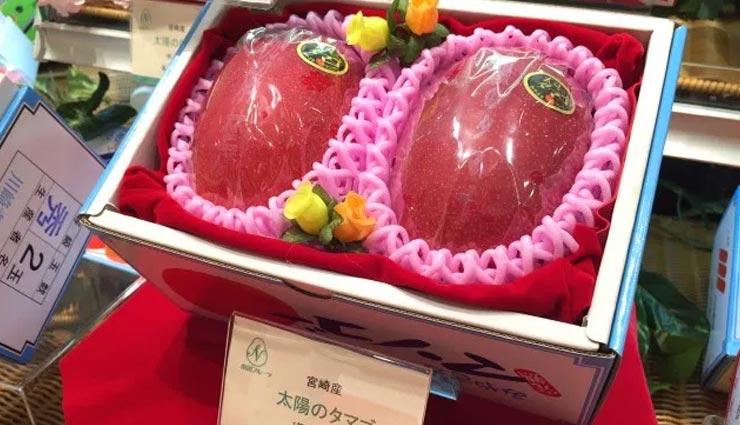 world expensive mango,taiyo no tamago,taiyo no tamago expensive mango,costliest mango in the world japan taiyo no tamago,most expensive fruits in the world,weird news