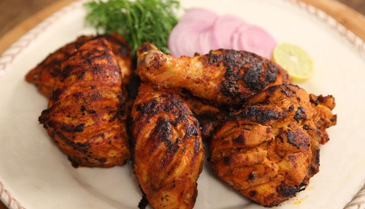 होटल जैसा स्वादिष्ट तंदूरी चिकन बनाए घर पर, अपनाए बनाने का यह तरीका #Recipe