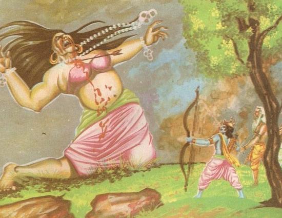 Diwali Special- Story of Tataka Ramayana - lifeberrys com