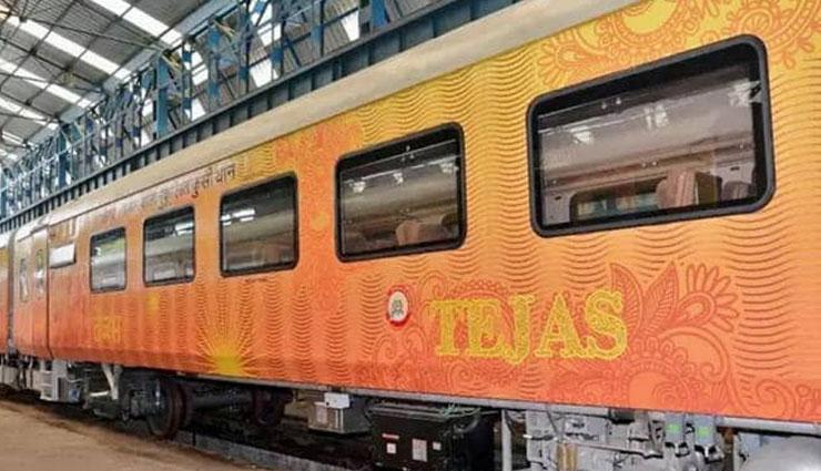 दिल्ली से लखनऊ के बीच 200 किमी प्रति घंटे की रफ़्तार से दौड़ेगी देश की पहली प्राइवेट ट्रेन 'तेजस'