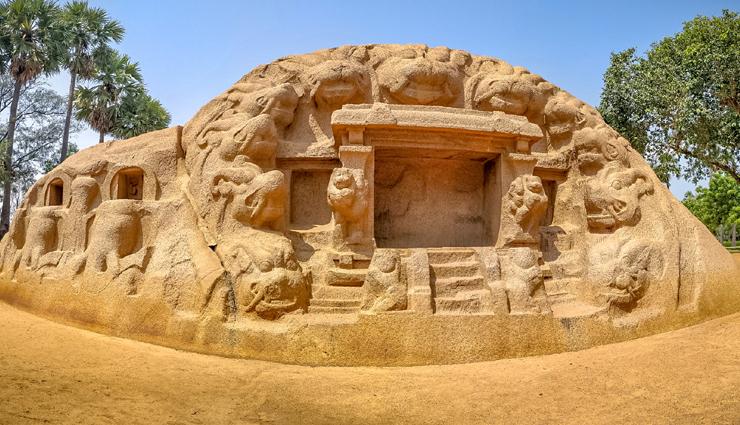 mahabalipuram,tourist attractions in mahabalipuram,mahabalipuram tourist places,shore temple,mahabalipuram beach,five rathas,tiger caves,crocodile bank,arjuna paradise,dakshina chitra,travel,holidays,travel guide