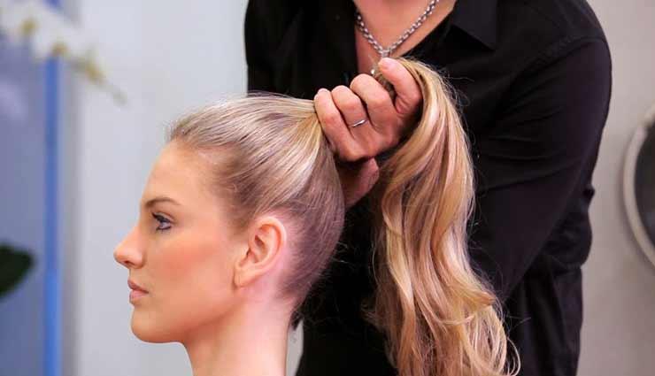 fashion tips,fashion tips in hindi,hairstyles damage your hair,hairstyles and fashion ,फैशन टिप्स, फैशन टिप्स हिंदी में, हेयरस्टाइल और फैशन, बालों को नुकसान पहुंचानी वाली हेयरस्टाइल