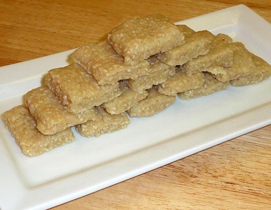Makar Sankranti - Recipe of Til Burfi