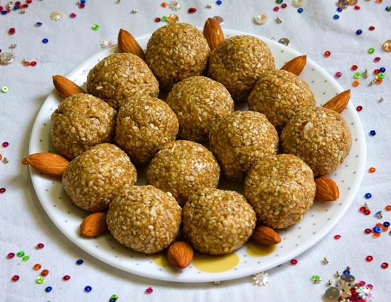 Makar Sankranti - Recipe of Til Laddoo