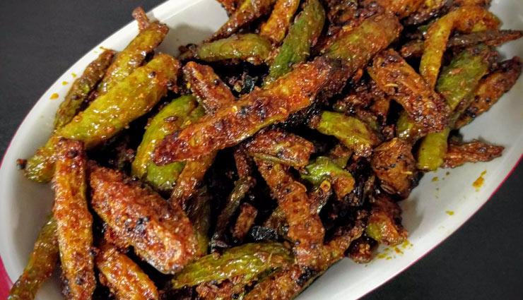tindora fry,dinner recipe,recipe