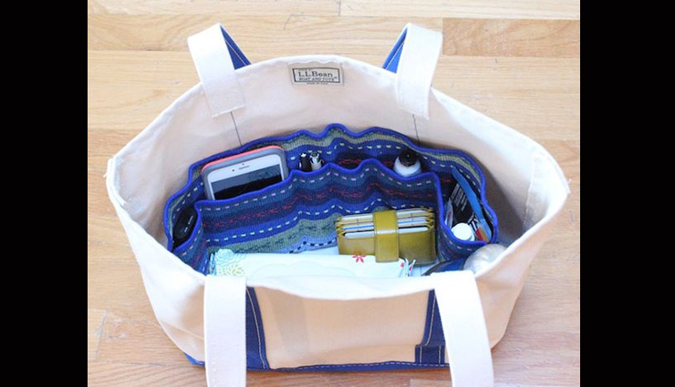 tips to keep purse organized,purse cleaning tips,organizing purse,household tips