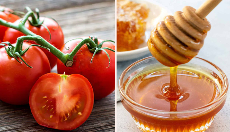 diy tomato and honey face packs,homemade honey face packs,homemade tomato face masks,tomato face masks,honey face masks,skin care tips,face masks for perfect skin,beauty tips,beauty hacks