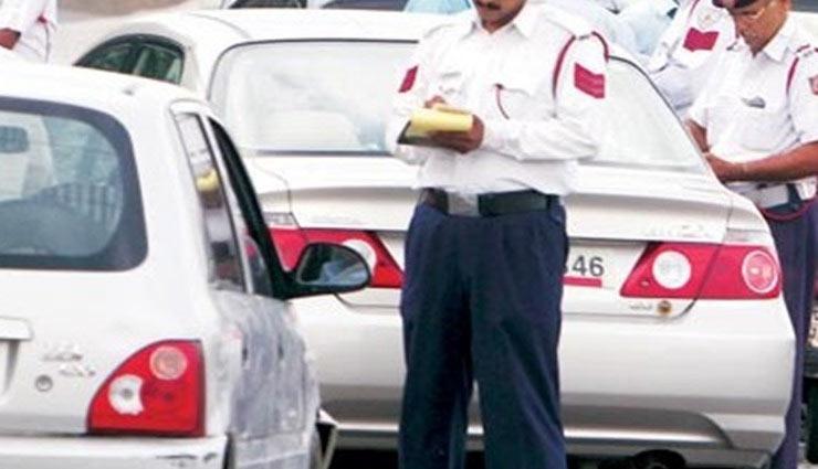 ट्रैफिक पुलिस ने दी गाड़ी सीज और चालान काटने की धमकी, कार सवार को आया हार्ट अटैक, मौत