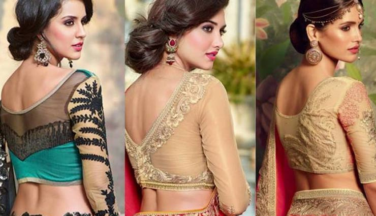 5 Transparent Blouse Designs To Look Stylish