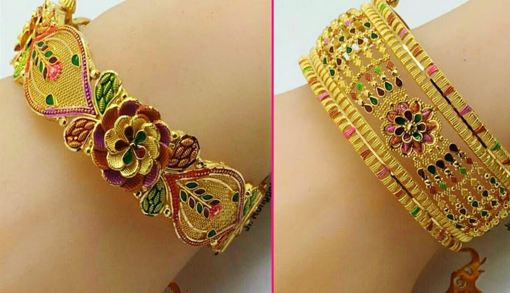bangles look,dress up bengals,different kind of  bangles,fashion tips,fashion ,चूड़ियां,लाख की चूड़ियां, फैशन टिप्स, ट्रेंडी बेंगल