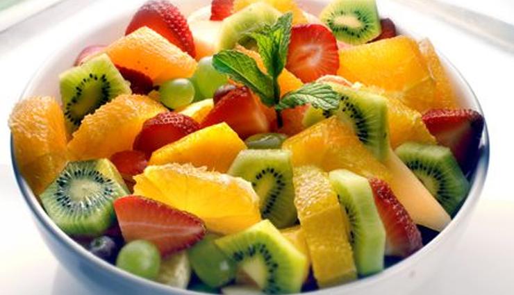 tropical fruit salad,fruit salad recipe,salad recipe,healthy recipe