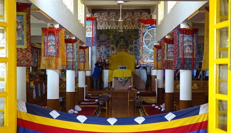 buddhist monasteries in india,famous buddhist monasteries in india,tawang monastery,ghoom monastery,shanti stupa,phugtal monastery,rumtek monastery,mindrolling monastery,thiksey monastery,tsuglagkhang complex,india travel,holidays,travel guide,tourism