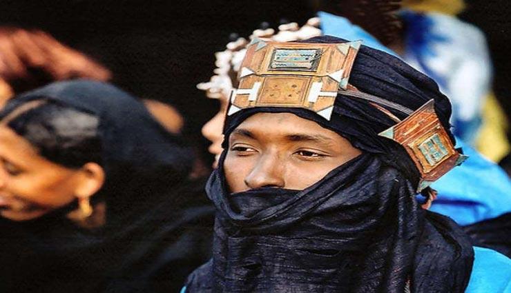 tuareg tribe,men have to take the veil,womens power,nigeria ,तुआरेक जनजाति, पुरुषों का घूँघट निकालना, महिलाओं के अधिकार, नाईजीरिया