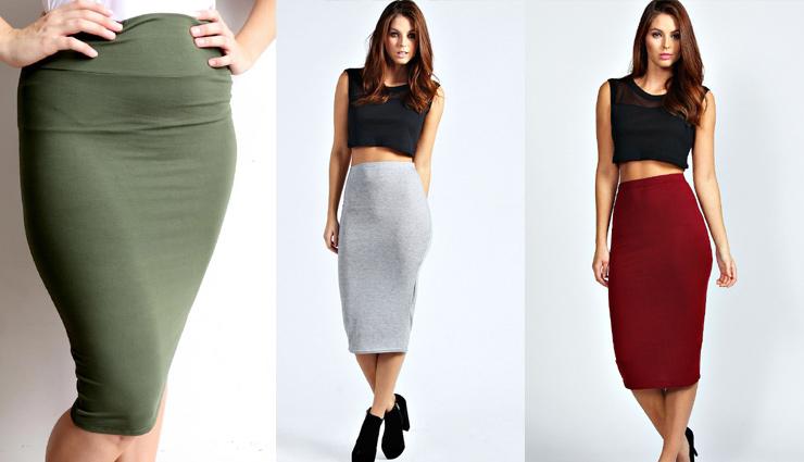 trending skirts,fashion,skirts fashion,single slit maxi skirt,tube skirt,pleated skirt,midi skirt,pencil skirt