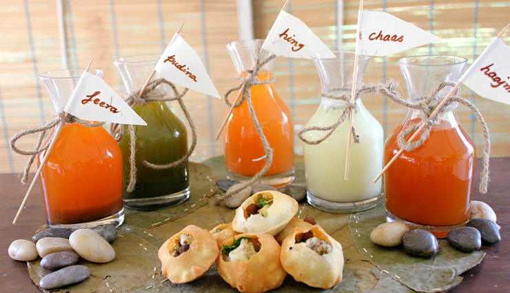 twist to your boring pani puri,different flavors of pani puri,pani puri,recipe,snacks recipe