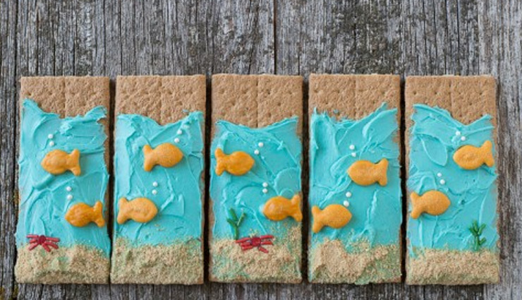 Recipe- Under the Sea Graham Crackers